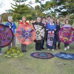Mandala workshop group